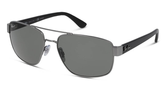 RB 3663 Men's Sunglasses Grey / Silver