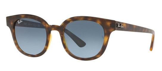 RB 4324 (710/Q8) Sunglasses Blue / Havana