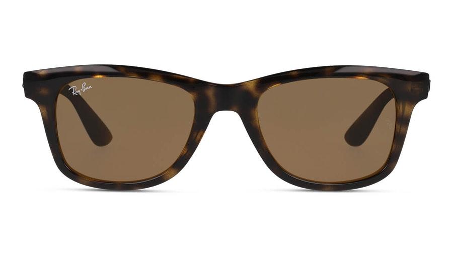 Ray-Ban Shiny Havana RB 4640 Men's Sunglasses Brown / Tortoise Shell