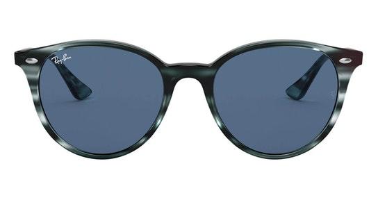 RB 4305 (643280) Sunglasses Blue / Tortoise Shell