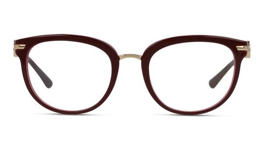 BV 4195B Women's Glasses Transparent / Burgundy
