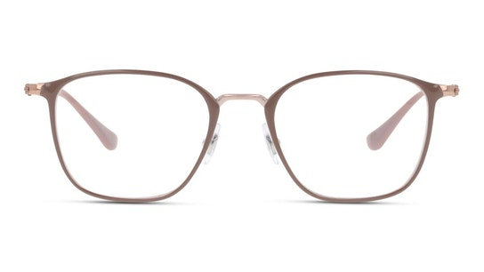 RX 6466 Unisex Glasses Transparent / Beige