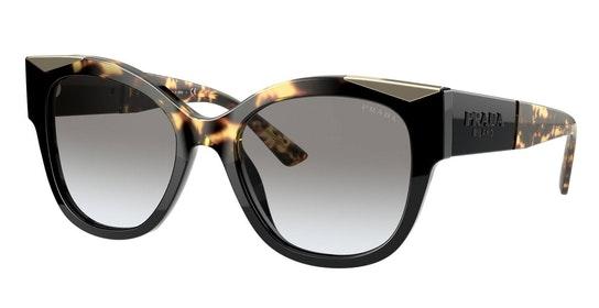 PR 02WS (01M0A7) Sunglasses Grey / Black