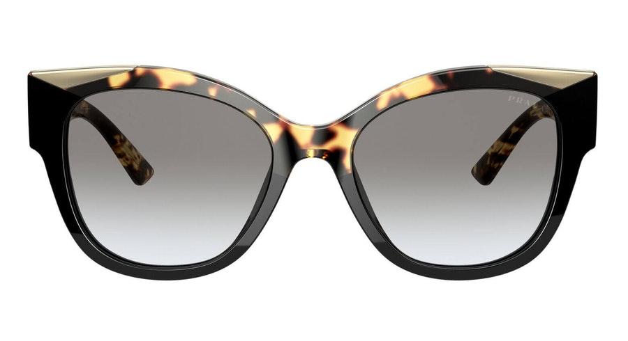 Prada PR 02WS Women's Sunglasses Grey / Black