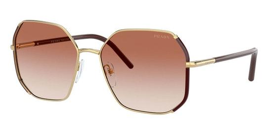 PR 52WS Women's Sunglasses Pink / Gold