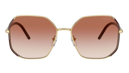 PR 52WS (07M2F1) Sunglasses Pink / Gold