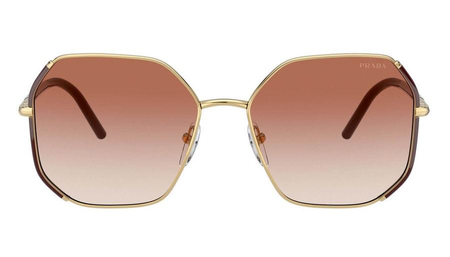 Prada PR 52WS Women's Sunglasses Pink / Gold