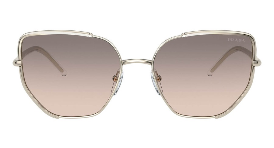Prada PR 50WS Women's Sunglasses Grey / Gold