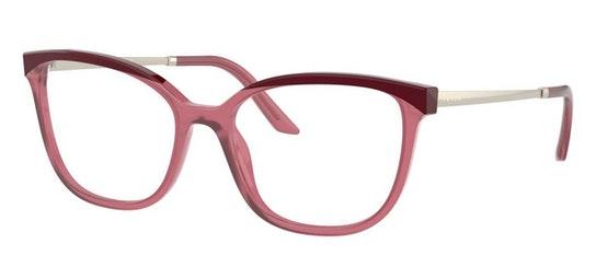 PR 07WV (08N1O1) Glasses Transparent / Burgundy