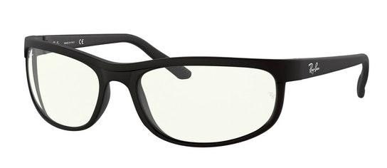 Predator 2 RB 2027 (601SBF) Sunglasses Transparent / Black