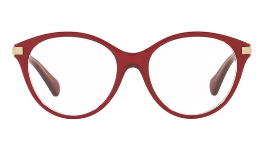 RA 7128 Women's Glasses Transparent / Red