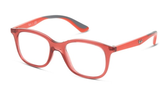 RY 1604 (3866) Children's Glasses Transparent / Red