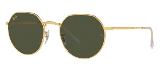 Jack RB 3565 (919631) Sunglasses Green / Gold
