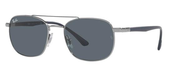 RB 3670 Men's Sunglasses Blue / Grey