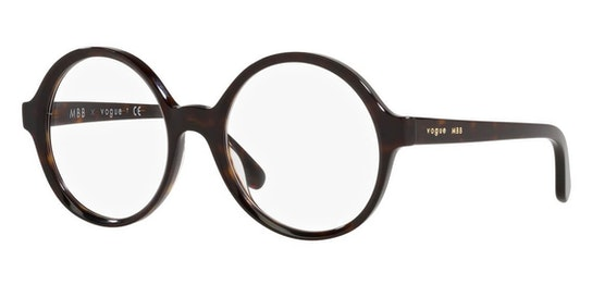 London MBB x VO 5395 Women's Glasses Transparent / Tortoise Shell