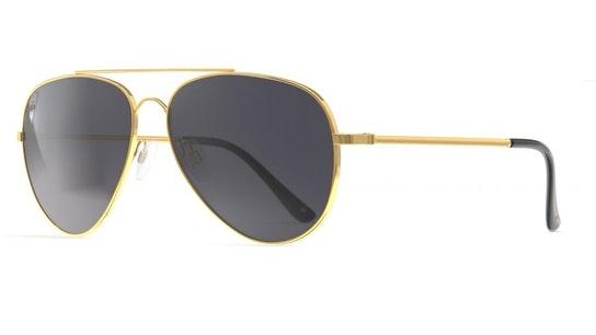 Cali Unisex Sunglasses Grey / Gold