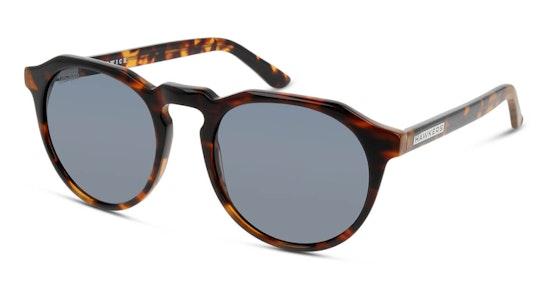 Carey Dark Warwick X W18X04 Unisex Sunglasses Grey / Tortoise Shell