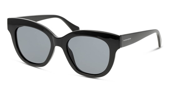 Black Audrey 110026 Women's Sunglasses Grey / Black