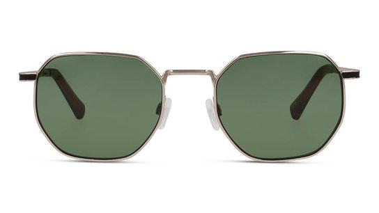 Gold Green Bottle Sixgon 130021 Unisex Sunglasses Green / Gold