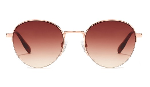 Moma Crosstown HMCT21KWM0 Unisex Sunglasses Brown / Rose Gold