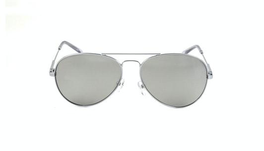 EM13P (SS) Sunglasses Silver / Silver