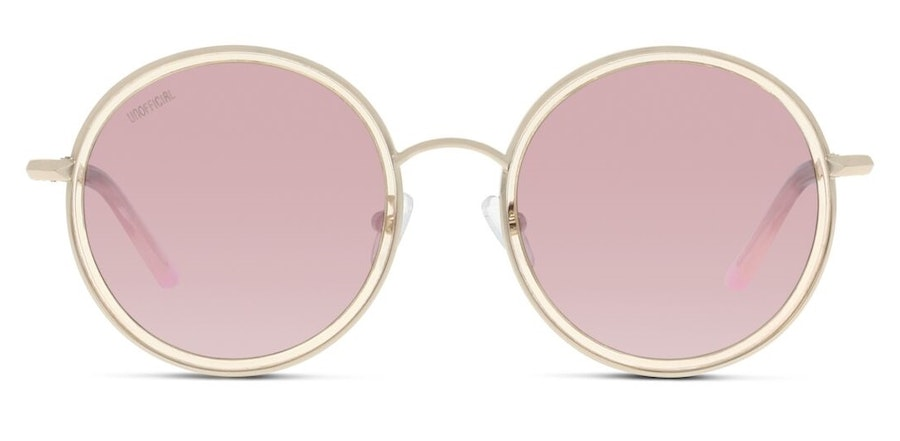 Unofficial UNGF20 Women's Sunglasses Pink / Gold