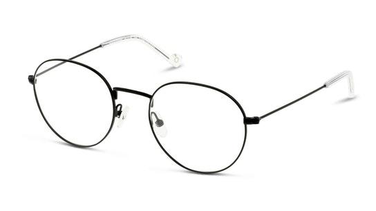 IS HM23 Men's Glasses Transparent / Black