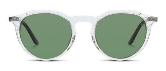 HS EF38WC Women's Sunglasses Green / Transparent