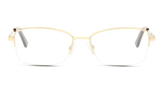 DB JF06 Women's Glasses Transparent / Gold