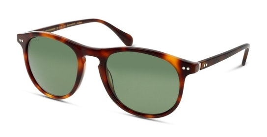 HS JM00WC (HH) Sunglasses Green / Tortoise Shell