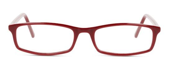 SN OF0005 Women's Glasses Transparent / Burgundy