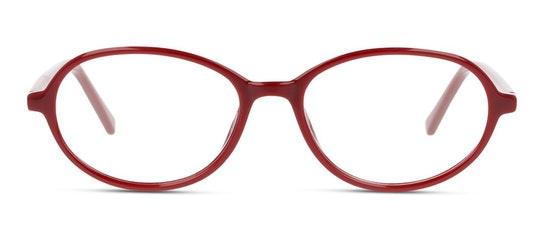 SN OF0007 Women's Glasses Transparent / Burgundy