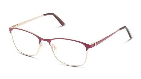 Titanium DB OF9001 Women's Glasses Transparent / Red