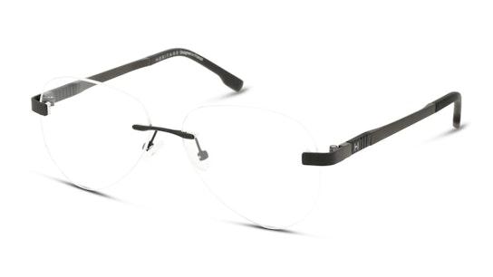 HE OM0020 Men's Glasses Transparent / Black
