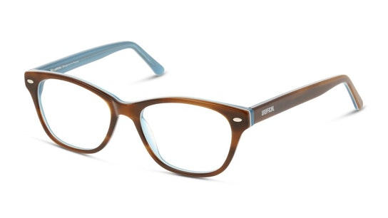 UNOF0016 Women's Glasses Transparent / Brown