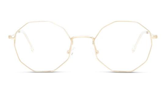 UNOF0076 Women's Glasses Transparent / Gold