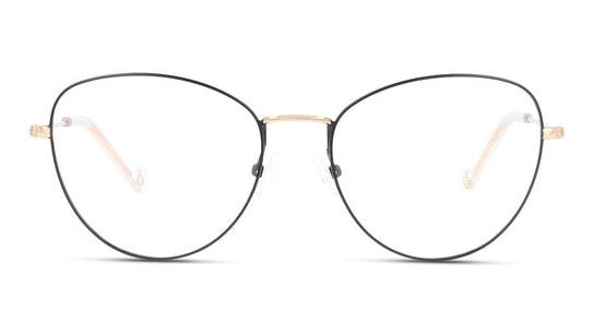 UNOF0077 Women's Glasses Transparent / Black