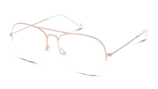 UNOF0068 Women's Glasses Transparent / Pink