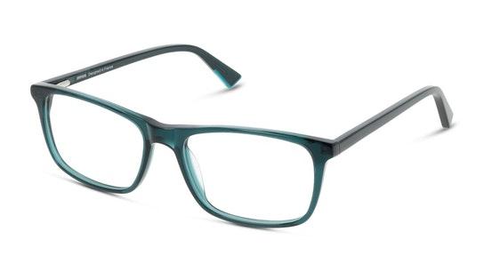 UNOM0003 Men's Glasses Transparent / Green