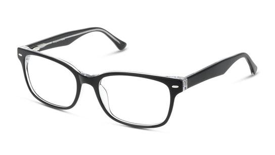 UNOM0012 Men's Glasses Transparent / Black 1