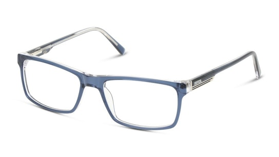 UNOM0050 Men's Glasses Transparent / Blue