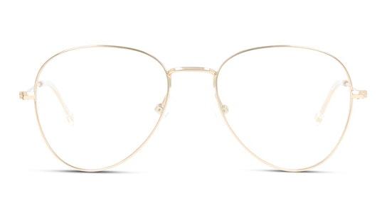 UNOM0072 Men's Glasses Transparent / Gold