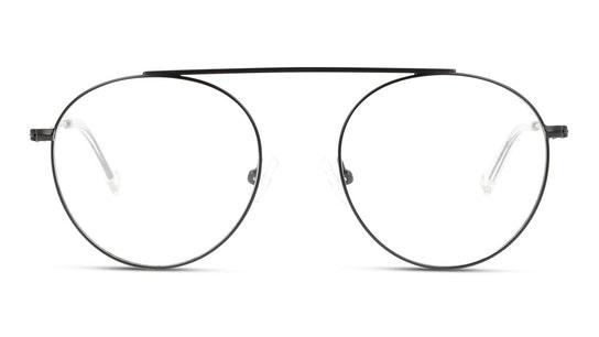 UNOM0073 Men's Glasses Transparent / Black