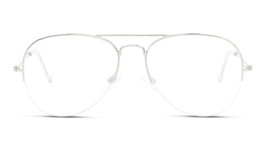 UNOM0068 Men's Glasses Transparent / Silver