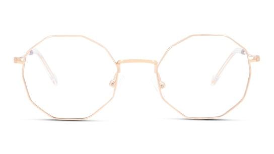 UNOT0070 (PP00) Children's Glasses Transparent / Rose Gold