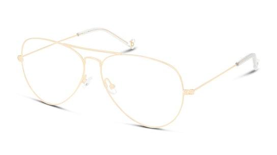 UNOF0155 (Large) (DD00) Glasses Transparent / Gold