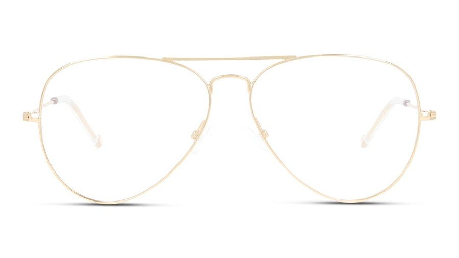 Unofficial UNOF0155 Women's Glasses Gold
