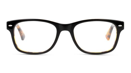 UNOM0021 Men's Glasses Transparent / Black