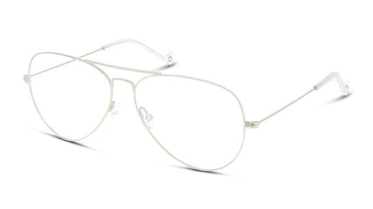 UNOM0155 (Large) Men's Glasses Transparent / Silver