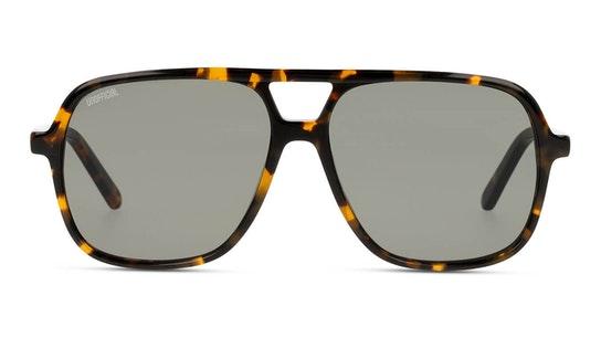 UNSM0014 (HHE0) Sunglasses Green / Tortoise Shell